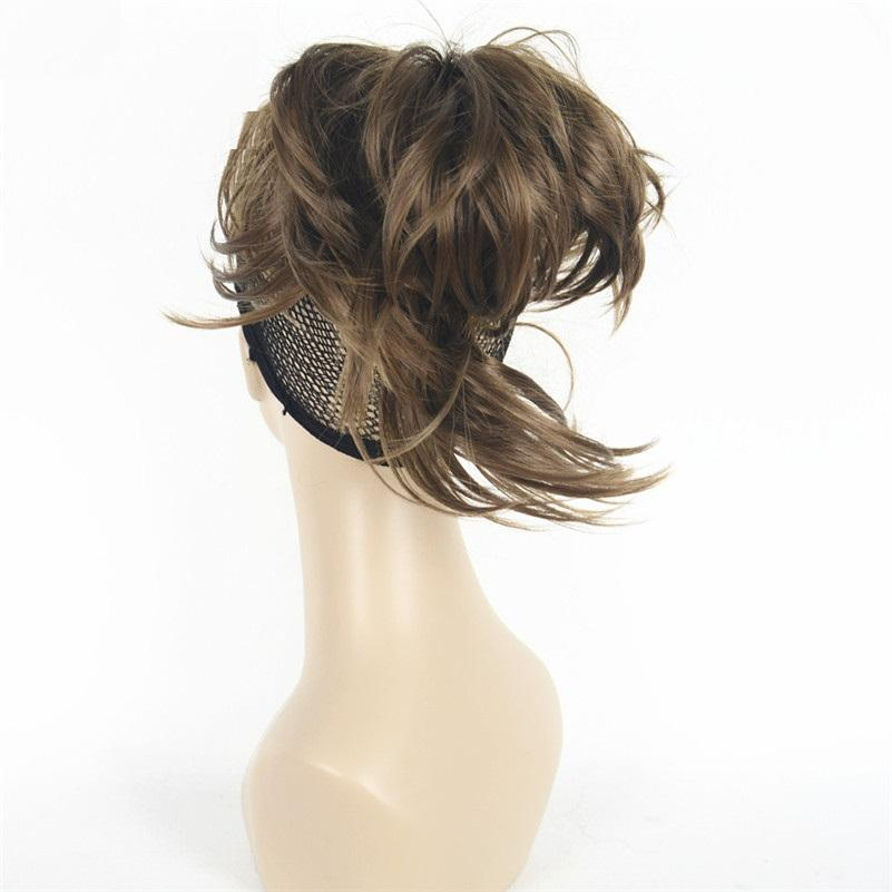Short Messy Hair Ponytails With Claw - NeedIt.ca