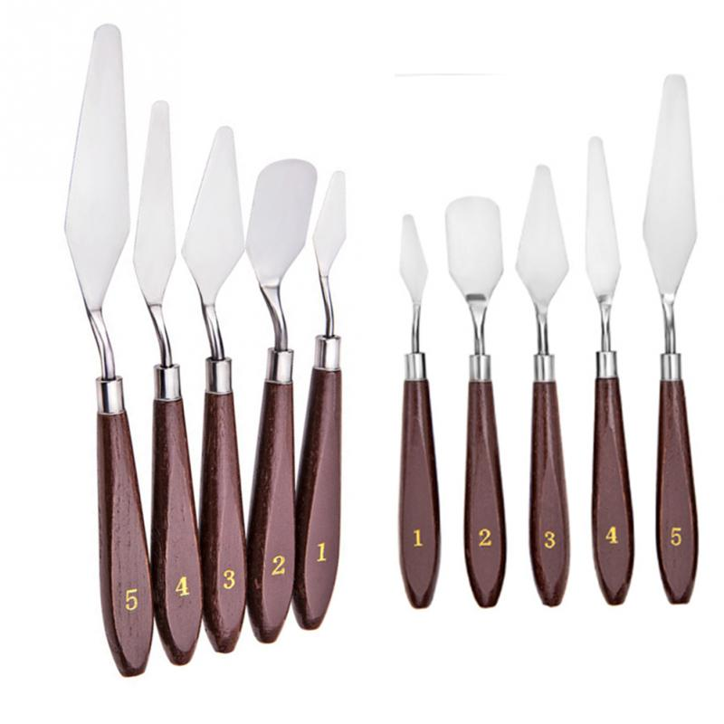 5 pcs/set palette knife / painter's spatula