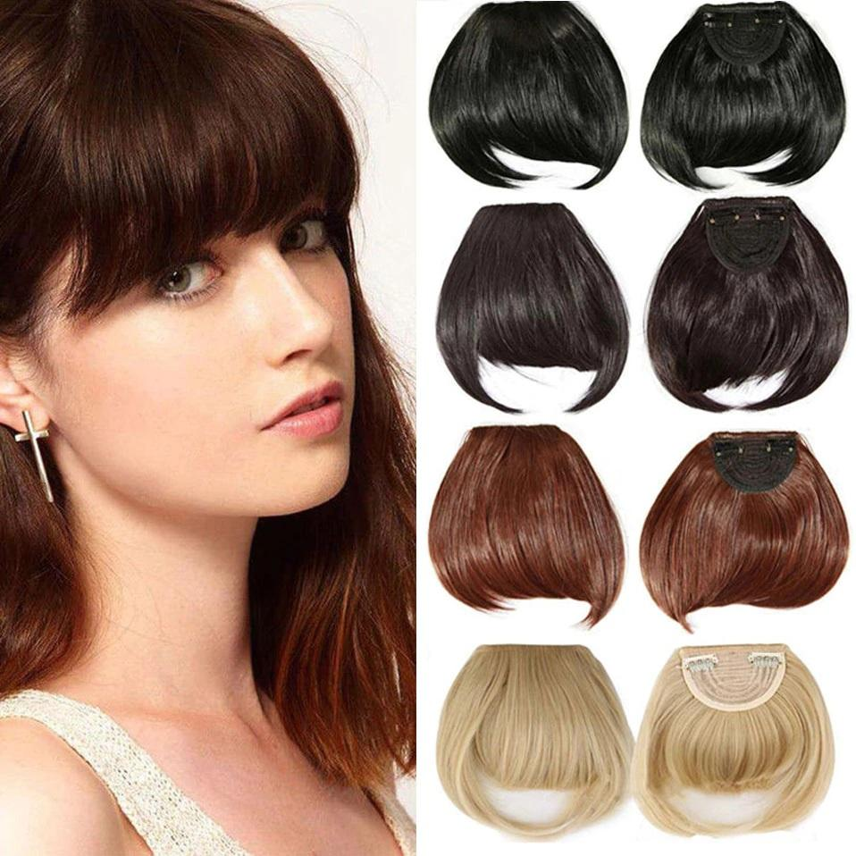 Fringe hair piece/blunt bangs - NeedIt.ca