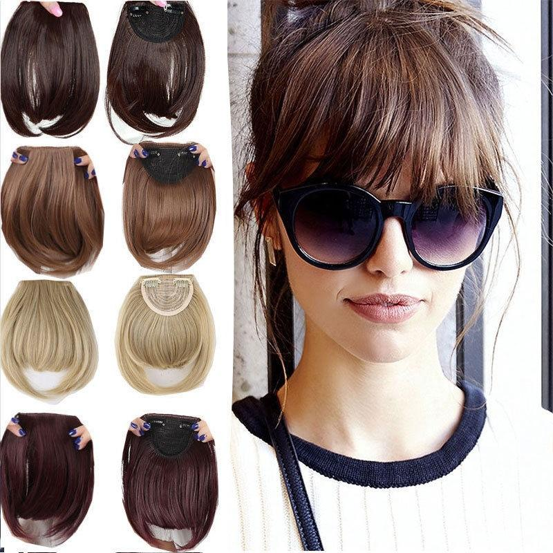 Fringe hair piece/blunt bangs