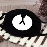1 pc Reusable Black Face Mask