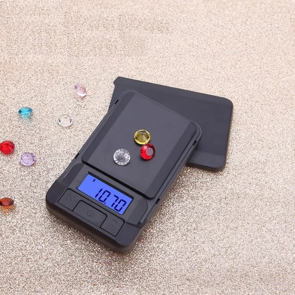 500g x 0.1g Digital Electronic Portable Jewelry Scale