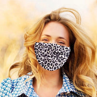 1 pc Disposable Face Mask for Adults Leopard Print