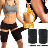1 Pair Neoprene Thigh Shaper Wrap