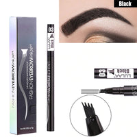 Waterproof Fork Tip Eyebrow Ink Pen