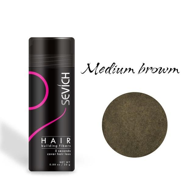 Keratin Hair Fiber Instant hair replacement - NeedIt.ca