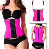 Latex Waist Trainer Vest