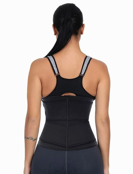Latex Double Compression Waist Trainer with Zipper