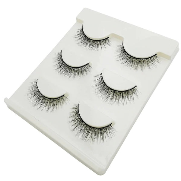 New style 3 pairs/set of 3D Thick Handmade Lashes