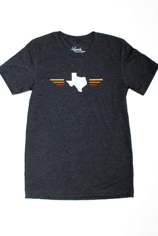 Men's Tri-blend Texas Sunset T-Shirt