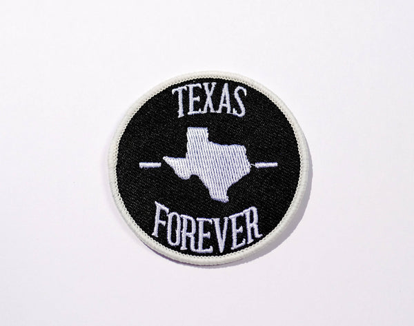 Texas Forever Patch White Black