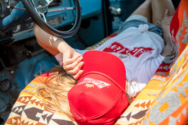 Austin Bud 5-Panel Hat Red