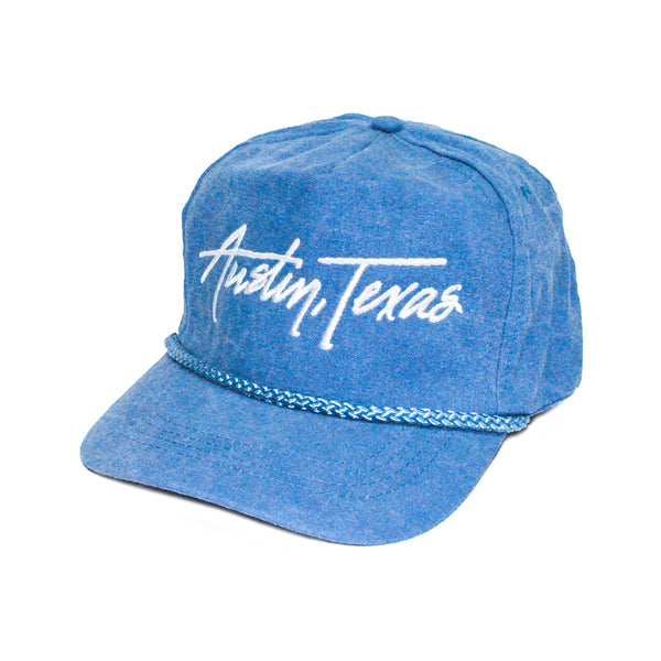 Austin Texas Retro 5-Panel Blue