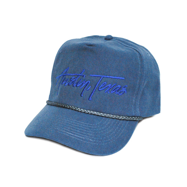 Austin Texas Retro 5-Panel Navy