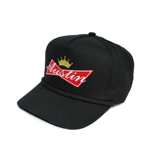 Austin Bud 5-Panel Hat Black