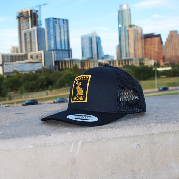 Locally Grown 6-Panel Snap Back Gold