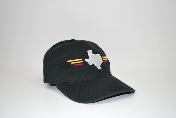 Sunset Dad Hat Black