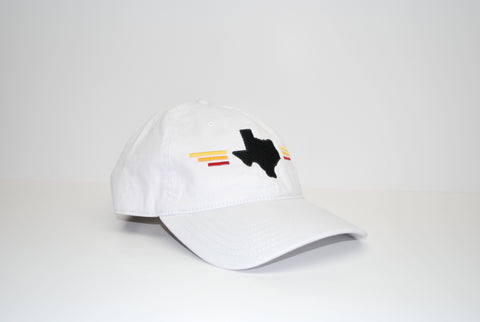 Sunset Dad Hat White