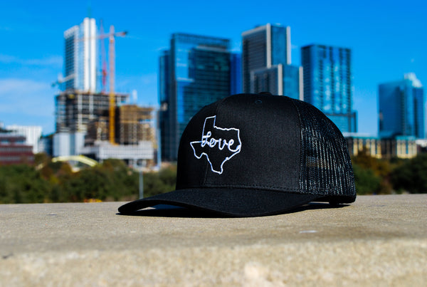 Love Texas 6- Panel Trucker