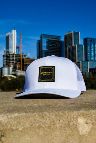 Austin Coordinates White 6-Panel Snap Back