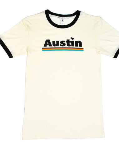 Retro Austin Ring Collar T-Shirt