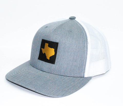 Tx Patched Hat Heather Grey