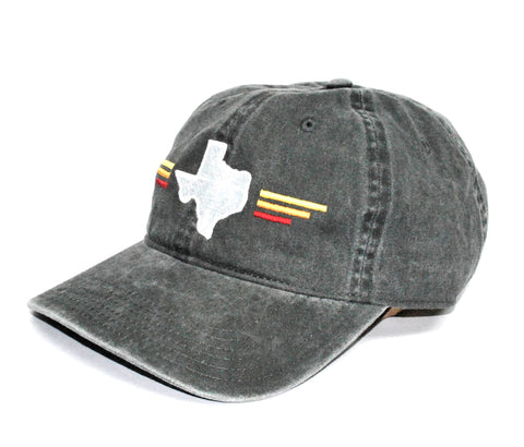 TX Sunset Dad Hat Heather Grey