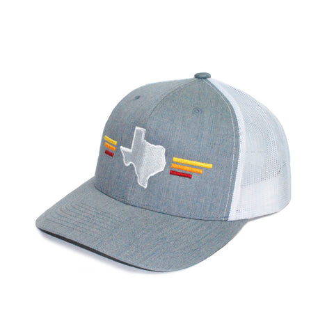 Texas Sunset Heather Grey