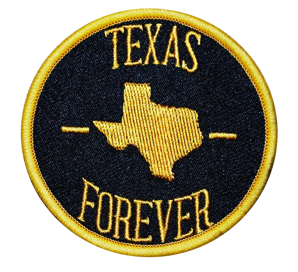 Texas Forever Patch Gold