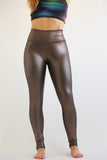 Liquid Leggings Long Champagne - KDW Apparel