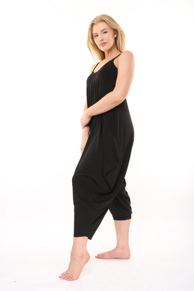 Limited Edition Black Traveler Jumpsuit - KDW Apparel