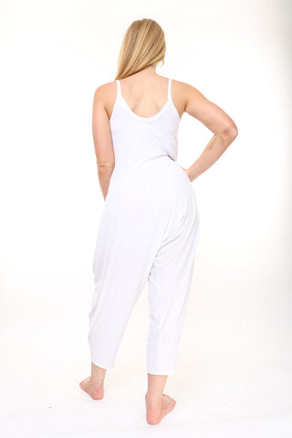 Limited Edition White Traveler Jumpsuit