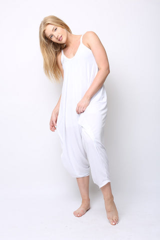 White Traveler Jumpsuit