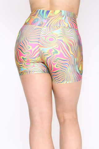 Bomb Shorts Psychedelic