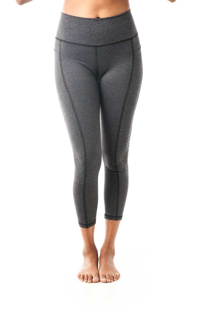 Breathe Leggings Grey - KDW Apparel