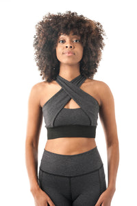 Brigitte Bardot Crop-Grey - KDW Apparel