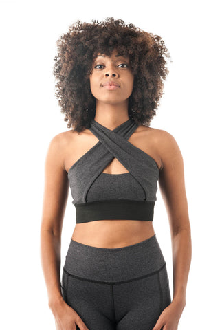 Brigitte Bardot Crop-Grey