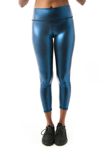 Disco Vogue Blue Leggings - KDW Apparel