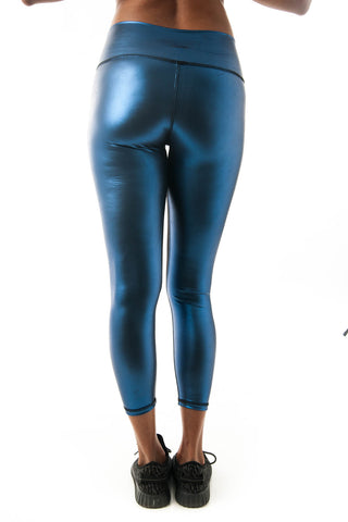 Disco Vogue Blue Leggings