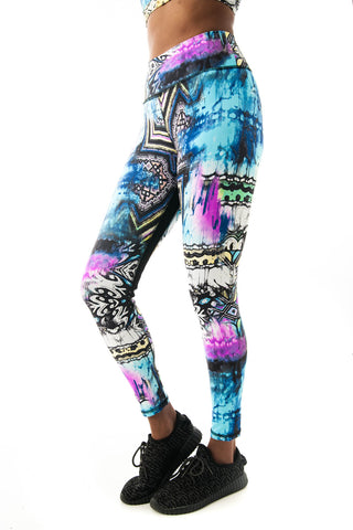 Mayan Temple Leggings