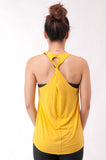 Not your Basic Pilates Tank-Yellow
