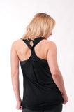 Not your Basic Pilates Tank-Black
