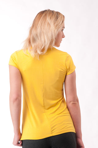 Not So Basic Yellow Pila-Tee
