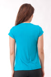 Not So Basic Turquoise Pila-Tee - KDW Apparel