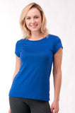 Not So Basic Royal Blue Pila-Tee - KDW Apparel
