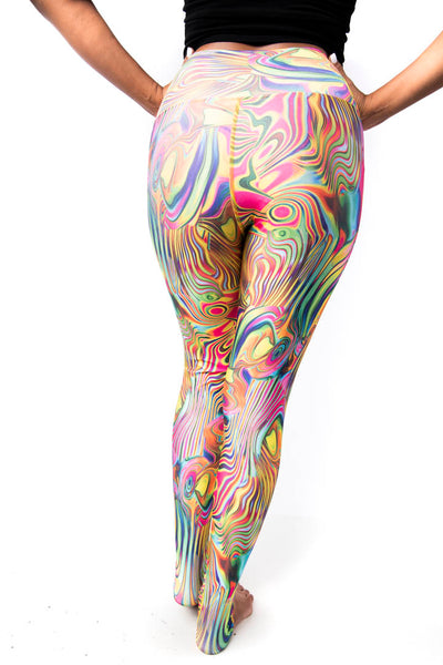 Psychedelic Pilates Long - KDW Apparel