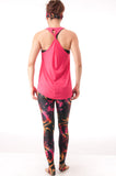 Not your Basic Pilates Tank-Coral