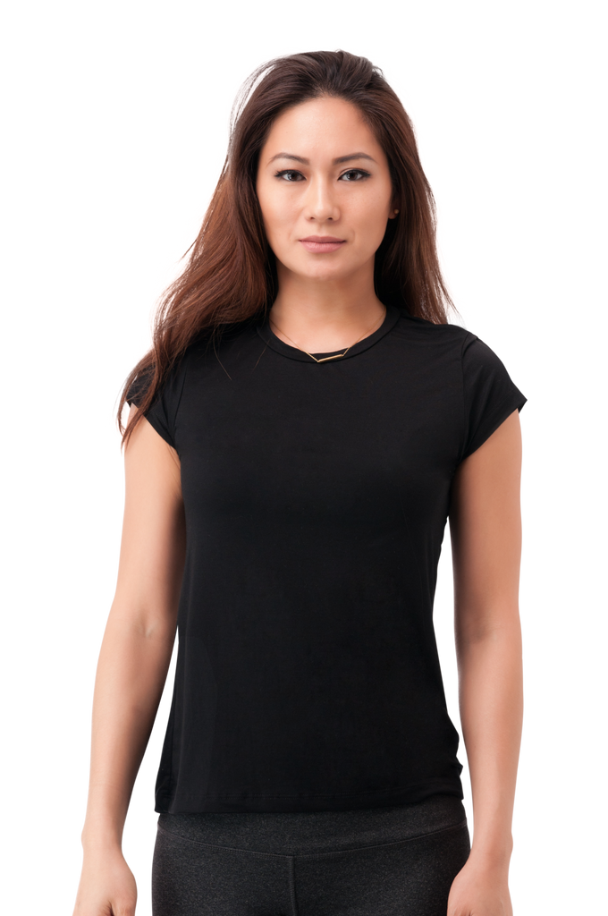 Not So Basic Black Pila-Tee