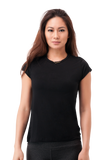 Not So Basic Black Pila-Tee - KDW Apparel