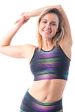Goddess Crop Top - Spectrum - KDW Apparel